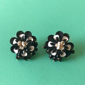 Kate Spade floral earrings - adorable!
